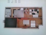1-комнатная квартира в элитной строящейся новостройке